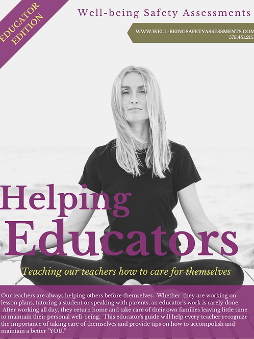 Helping Educators with Mental Health