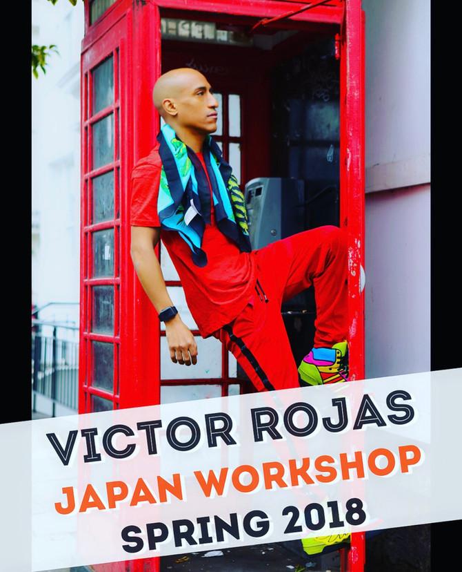 Victor Rojas XJapan 2018