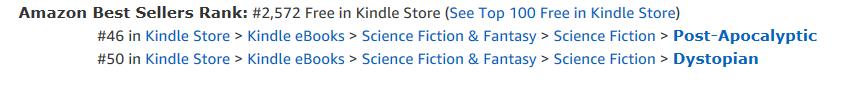 Amazon Kindle eBooks rankings