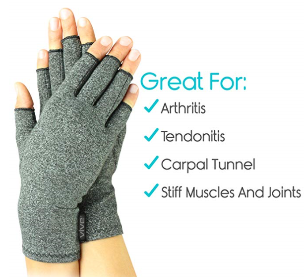 Vive arthritis compression gloves for pain relief