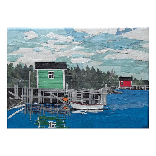 SOLD Green Shed, Red Shed, 2021