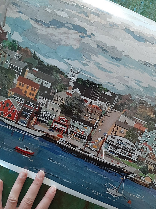Limited Edition Prints - It's a Beautiful Day in Lunenburg
