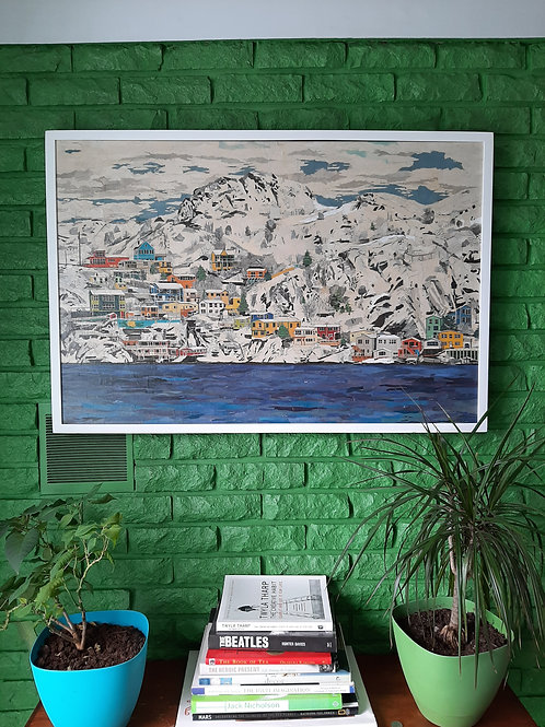 The Battery, 2020 Limited Edition Canvas Print