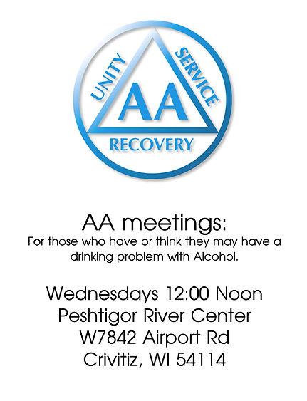 AA meetings: .jpeg