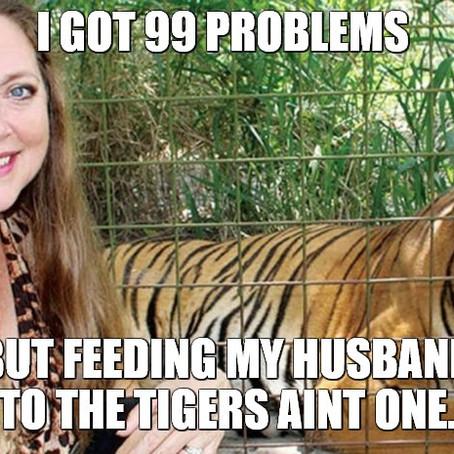 20 Carole Baskin Netflix Tiger King Memes | They're Great!