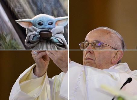 Pope Francis Holding Things Up | 20 Funny Memes
