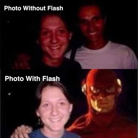 📸With Flash Is Better!📸