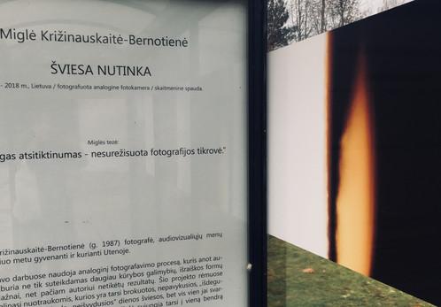 Miglė Križinauskaitė-Bernotienė/ŠVIESA NUTINKA/Utena