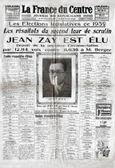 La France du centre du 4 mai 1936