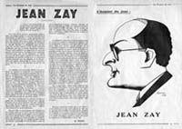 Jean Zay dans le journal