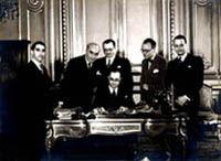 Jean Zay et son cabinet