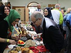 Food Diplomacy Draws Crowd at Nashville Islamic Center (TN Tribune 2018)