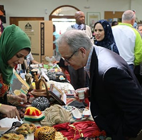 Food Diplomacy Draws Crowd at Nashville Islamic Center (TN Tribune 2018)