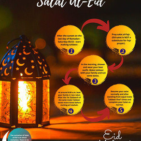Layat ul-Qadr, Sadaqat Al- Fitr and Salat al-Eid: Message from Sh. Ossama.