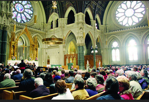 Holy Mass at the Cathedral of Saints Peter and Paul, Providence, Rhode Island