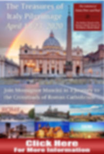 Join Monsignor Mancini for a Pigrimage to Italy!