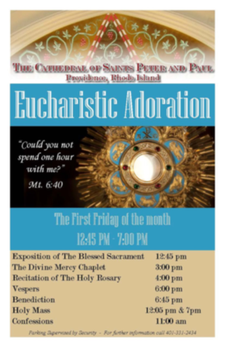 First Fridays at the Cathedral