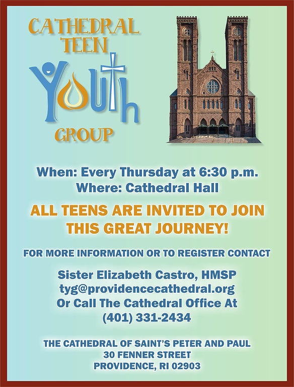Cathedral Youth Group, Join Us!