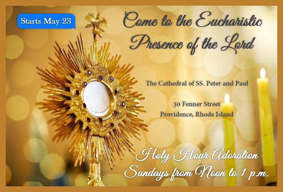 Hour of Eucharistic Adoration