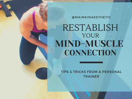 Reestablish your Mind-Muscle Connection