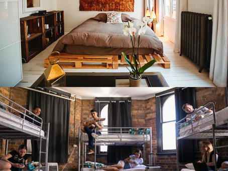AirBNB vs. Hostels - The Best Bang For Your Buck
