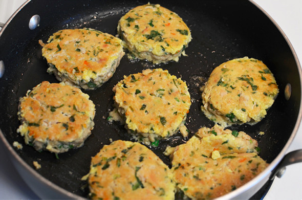 Spicy Tunacakes - A High Protein Snack