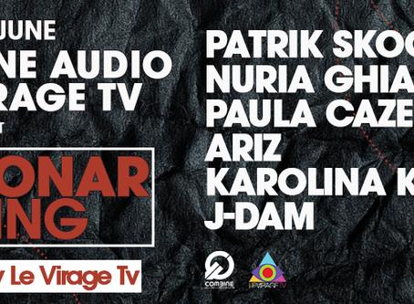 Combine Audio & Le Virage TV Off Sonar Meeting @ Garage 442 (15th June 2018, Barcelona)