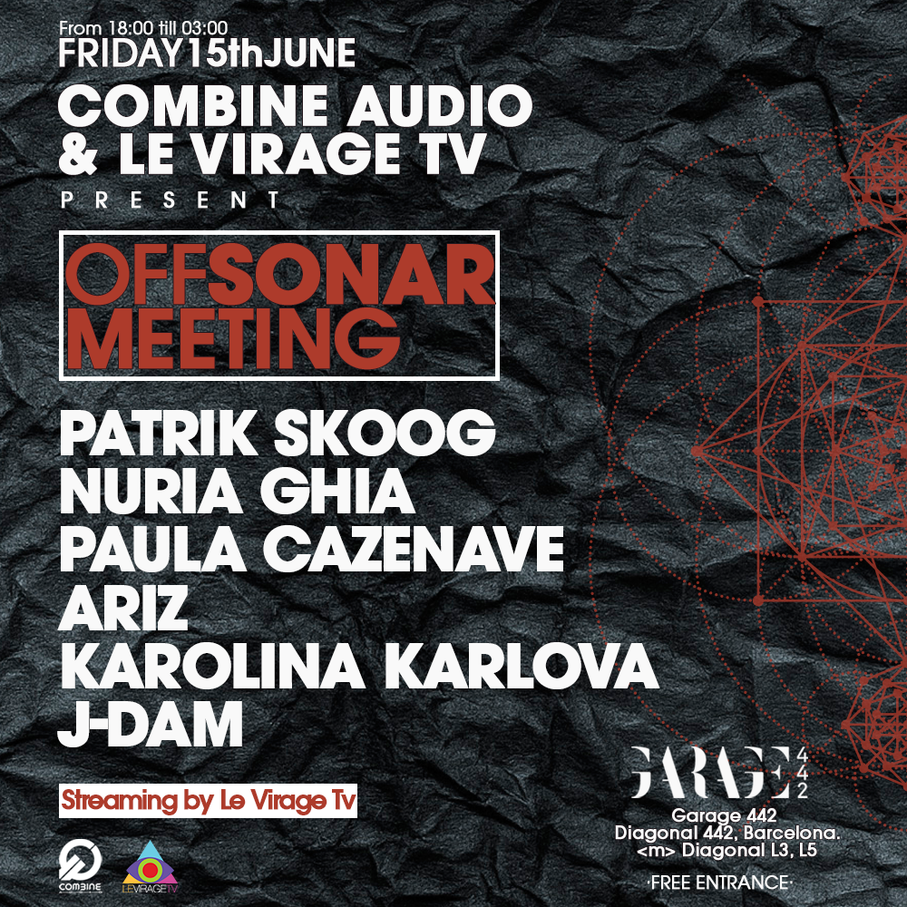 Combine Audio & Le Virage TV Off Sonar 2018 Flyer