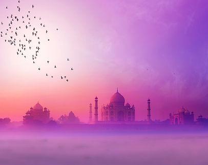 India background of Indian travel wonder