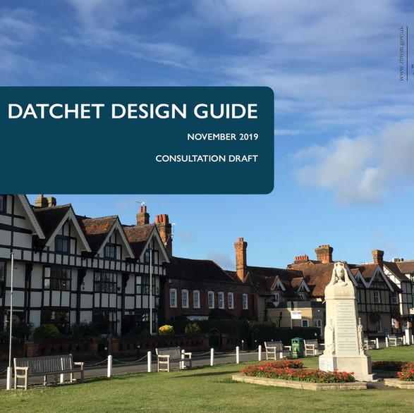 Datchet Design Guide SPD - Royal Borough of Windsor & Maidenhead