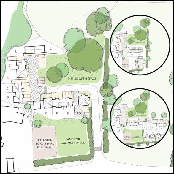 Housing Site Concept Options - Twyford Neighbourhood Plan