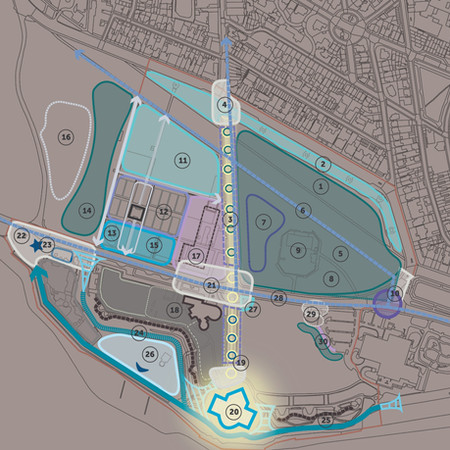 Southsea Common Masterplan & DDay Story Entrance Space