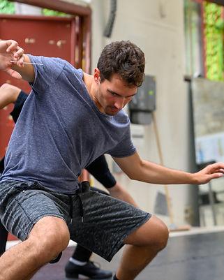 Angel Cubero Répétitions à ESPAS-danse ©