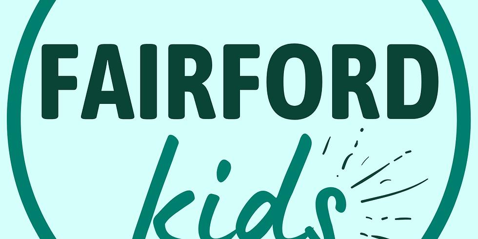 FAIRFORDkids website Launch