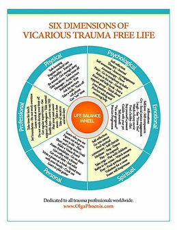 Six Dimensions of a Vicarious Trauma Fre