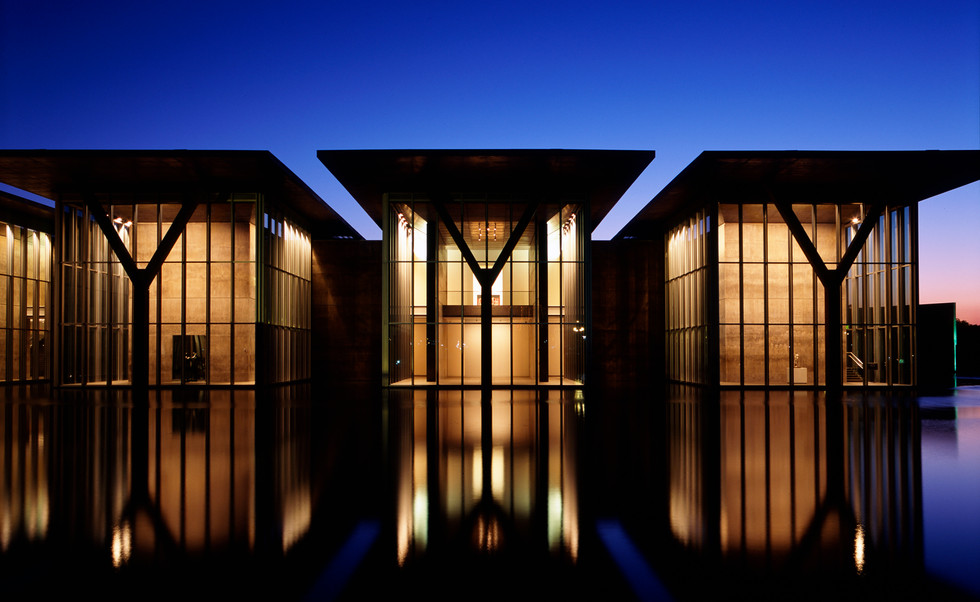 Modern Art Museum of Fort Worth, by Tadao Ando