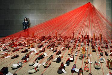 Chiharu Shiota, Artist