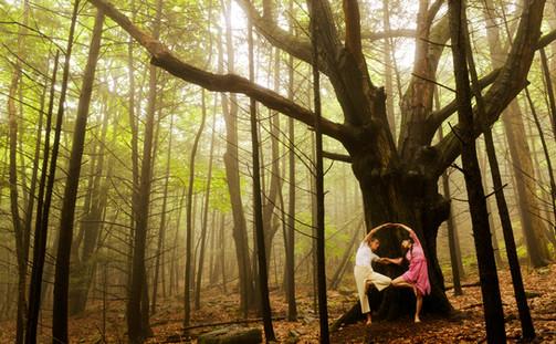 David Life and Sharon Gannon, Yoga master