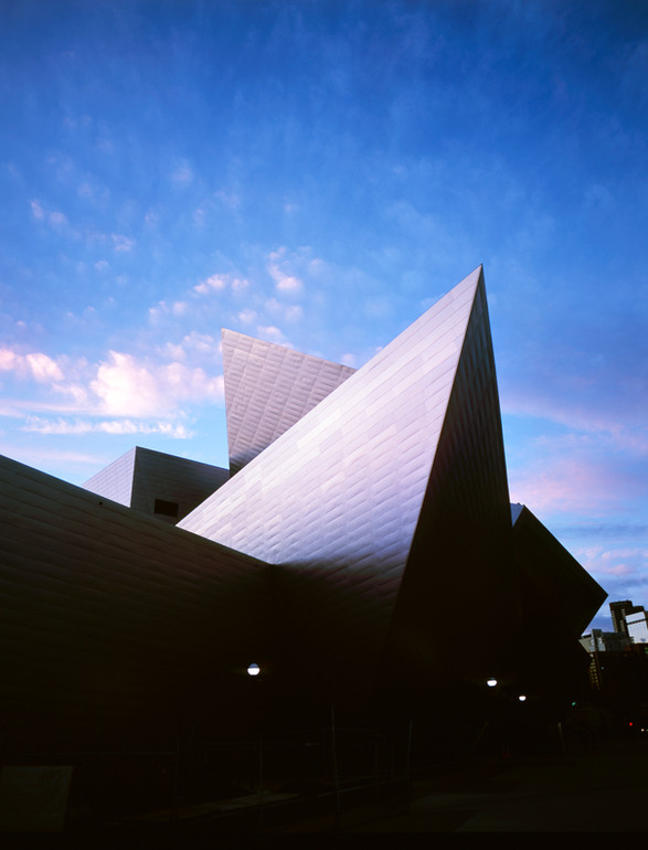 Denver Art Museum, by Daniel Libeskind