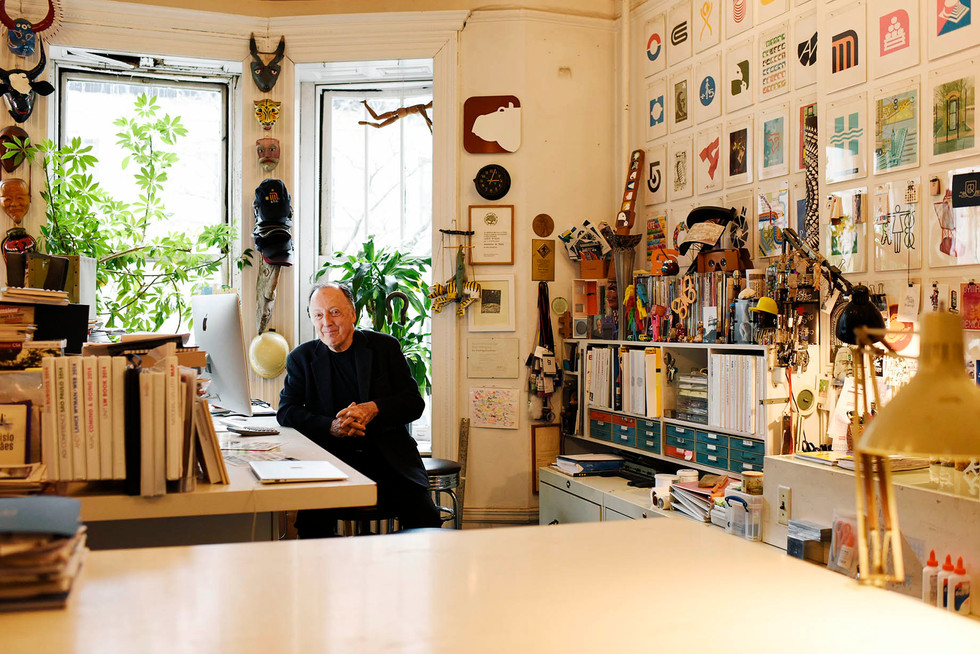 Lance Wyman, graphic designer