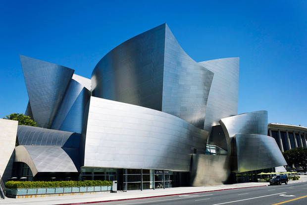 The Walt Disney Concert Hall, by Frank O Gehry