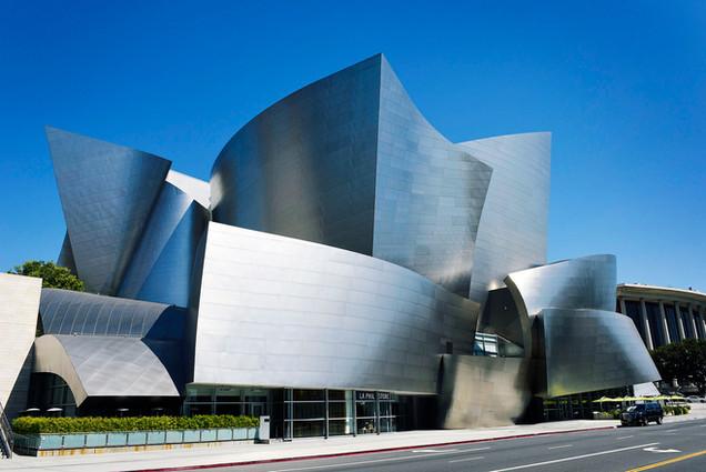 The Walt Disney Concert Hall, by Frank O Gehry