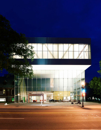Pierre Lassonde Pavilion, Quebec Art Museum, by OMA