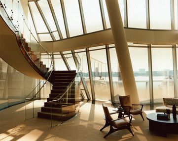 IAC Building, by Frank O. Gehry