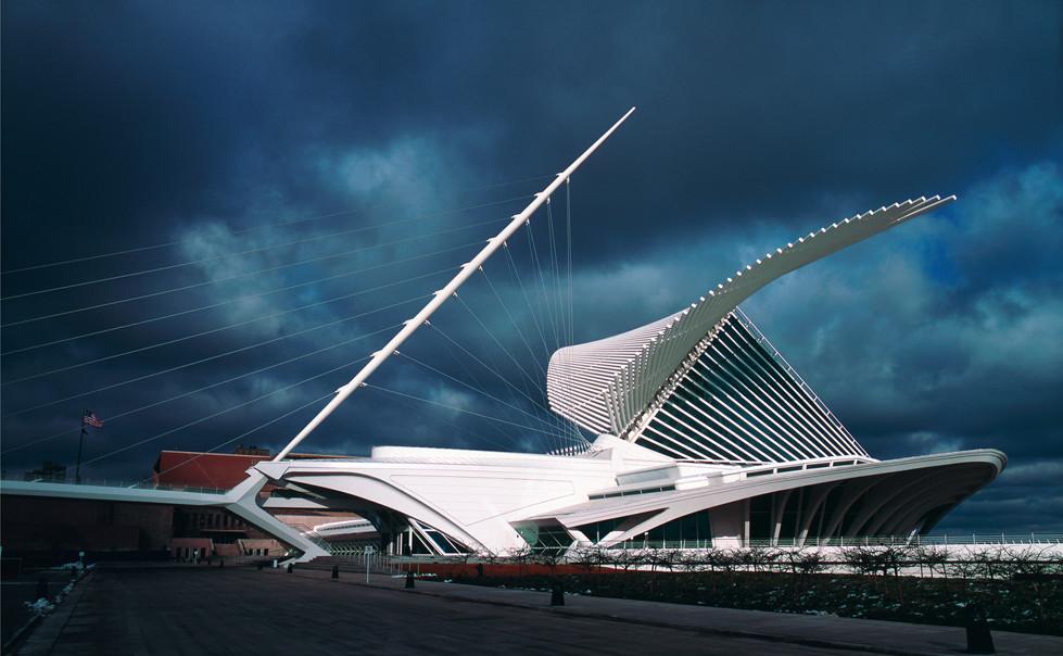 Milwaukee Art Museum, by Santiago Calatrava