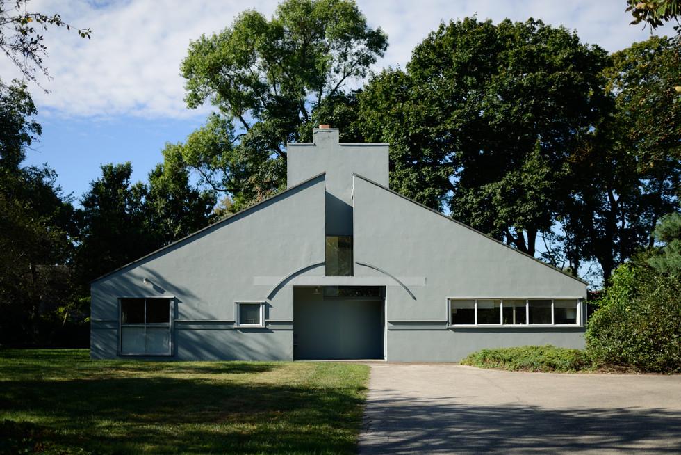 Vanna Venturi House, by Robert Venturi