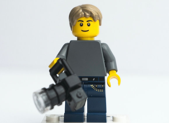 'Lewis' LEGO Minifigure