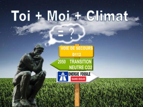 TOI + MOI + CLIMAT - Notre première conférence en ligne !