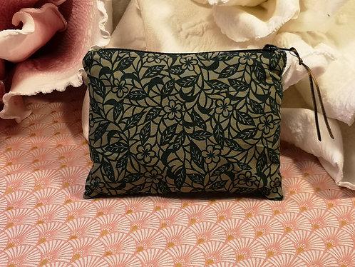 TROUSSE moyen modèle vert fleuri
