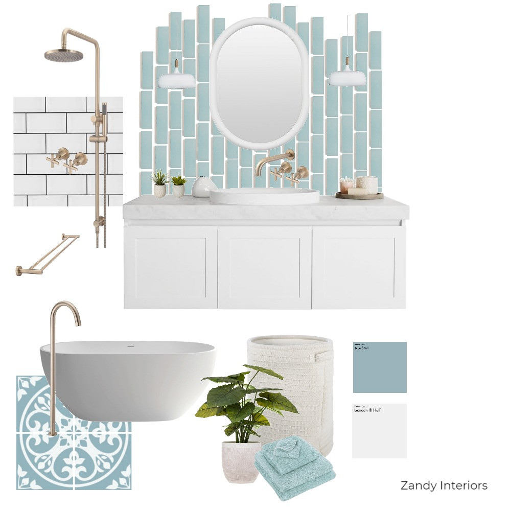 Hamptons style concept board
